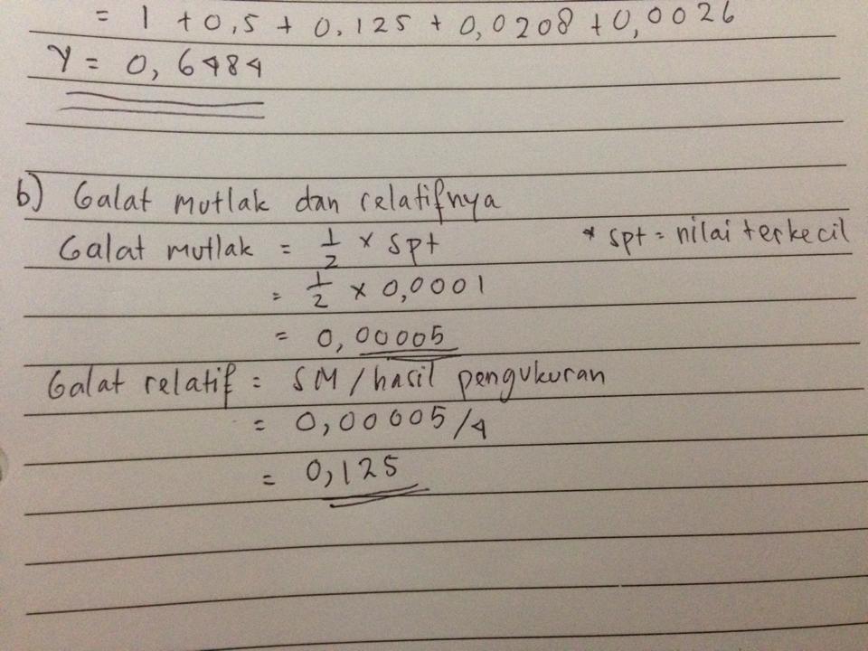 Tm Metode Numerik Gslc 1 I Kadek Mega Adi Utama